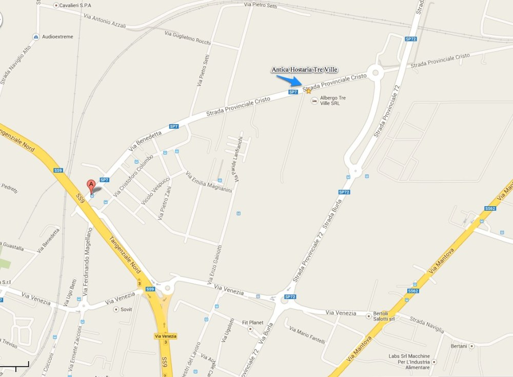 Via Benedetta, Parma, PR - Google Maps